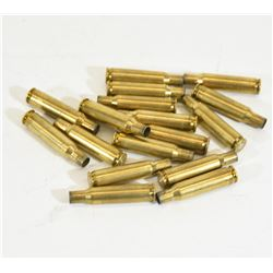 17 Pieces 222 Rem Brass