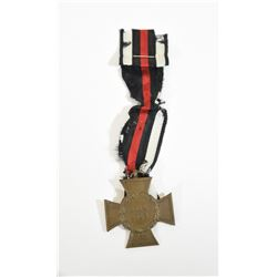 German Hindenburg Cross with Ribbon