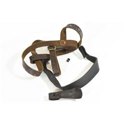 German Leather Harness & Holder