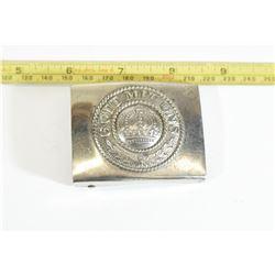 WWI Army Silver Buckle