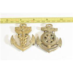 2 Kriegsmarine Badges