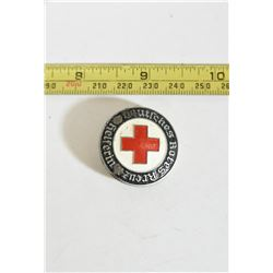 German Red Cross Women's Badge Denazified
