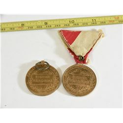 Franz Joseph Medal and Medal with Ribbon