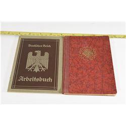 2 Nazi Workbooks