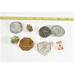 8 Miscellaneous Nazi Rally Badges