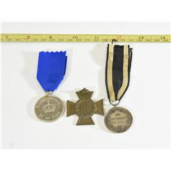 3 Imperial Awards Medals