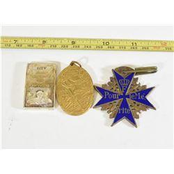 Blue Max Medal, Silver Bar with Enamel