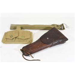 Holster, Ammo Pouch and Cleaning Rod