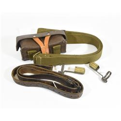 Military Slings, Ammo Pouch, and Muzzle Caps