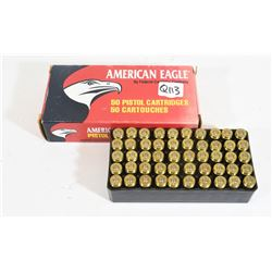 100 Rounds Factory 40 S&W 165grn
