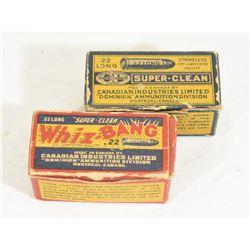 Vintage 22Long Ammo