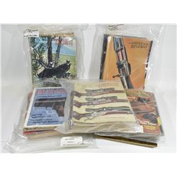 51 Issues of American Rifleman Magazine
