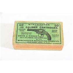 Rare Winchester 32 CF Ammunition Box