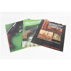 Three Remington Catalogues 1971, 1976, 1977