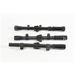 Three Scopes