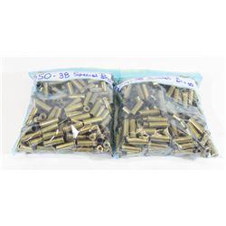 500 Pieces 38SPL Brass