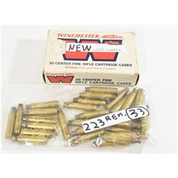 223Rem and 30-30Win Brass