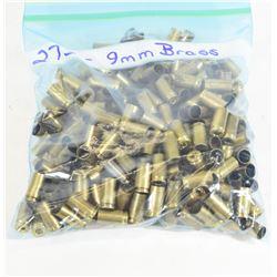275 Pieces 9mm Brass