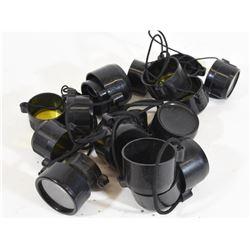 10 Pairs of Lens Caps
