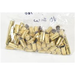 100 Pieces of 40 S&W Brass