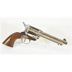 Ranger Nickel 9mm Blank Revolver
