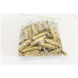 100 Pieces of 308 Winchester Brass