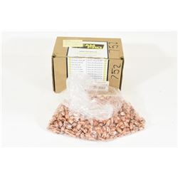 358 Pieces of 9mm 124gr RN CamPro Projectiles