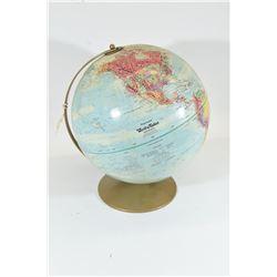 """World Globe 12"""" Diameter"""