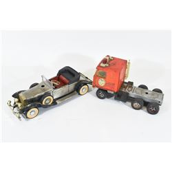 """Toy Truck and Car 10"""" Long"""