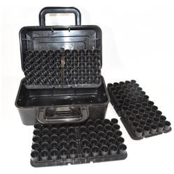 Three 12ga Shell Trays in Case