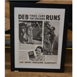 Deb Find Curefor Stocking Runs Print.