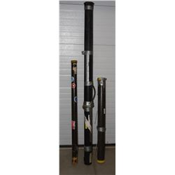 3 PVC Fishing Rod Storage/Shipping Containers
