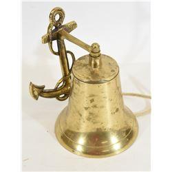 Brass Anchor Wall Bell