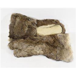Medium Pair Rabbit Fur Gloves