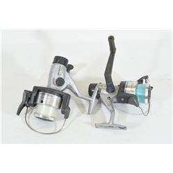 Two Quantum SS3 Spinning Reels