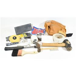 Box Lot of Hand Tools