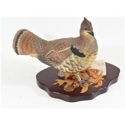 Ducks Unlimited Carved Wood Bird Mount