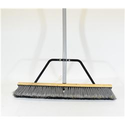 "Push Broom with 2' Head and 53"" Handle"