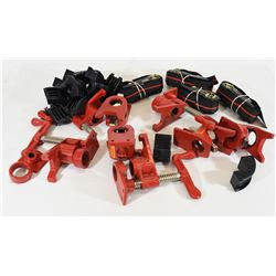 Woodworking Ratchet Strap Clamps And Pipe Clamps