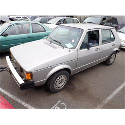1983 Volkswagen Rabbit