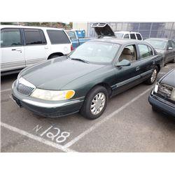 2001 Lincoln Continental