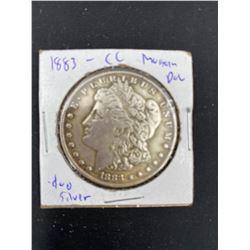 1883 MORGAN SILVER DOLLAR  CC