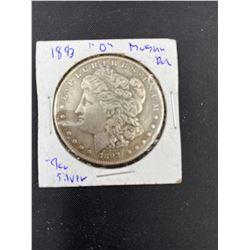 1893 MORGAN SILVER DOLLAR  O