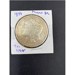 1894 MORGAN SILVER DOLLAR