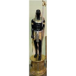 APPROX 7.5' TALL STATUE HORUS EGYPTIAN GOD OF THE SKY