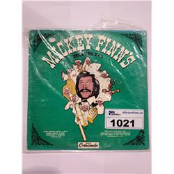 MICKEY FINN'S MUSIC AUTOGRAPHED VINYL