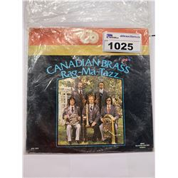 CANADIAN BRASS RAG-MA-TAZZ AUTOGRAPHED VINYL