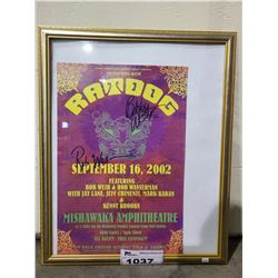FRAMED RATDOG, BOB WEIR, ROB WASSERMAN, JAY LANE, JEFF CHIMENTI, MARK KARAN, KENNY BROOKS