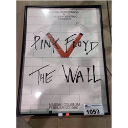 FRAMED PINK FLOYD PERFORMING THE WALL VISIBLE DAMAGE