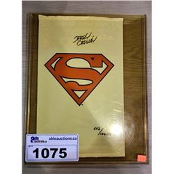 SUPERMAN COMIC BOOK 1993 542/10,000 SIGNED BY JERRY ORDWAY WITH CERTIFICATE OF AUTHENTICITY